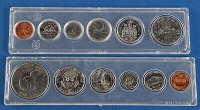 AU19.99 • Buy United States 1972 & Canada 1978 Uncirculated Coin Set In Presentation Cases