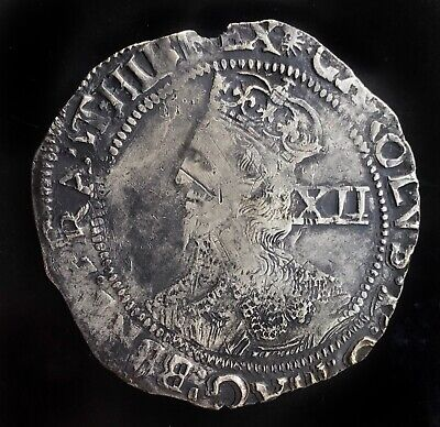 £120 • Buy Charles I 1645-46 Shilling, Mm Sun Under Parliament