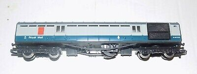 £19.99 • Buy Ex Lms Blue/grey Tpo Operating Royal Mail Coach M80328 Oo Gauge By Hornby