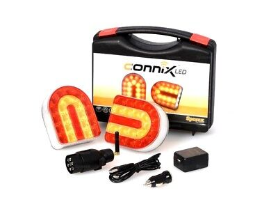 AU220.48 • Buy Connix Lighting Set Wireless With Magnetic Fitting For Tractor Trailer Forestry