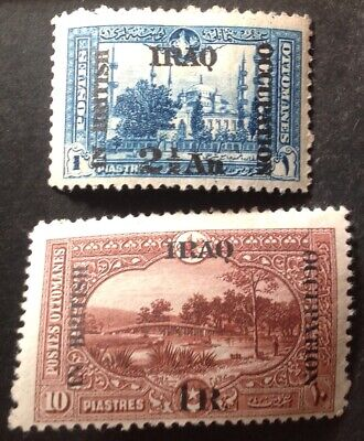 £4.70 • Buy Iraq 1918 2 X Stamps Mint Hinged