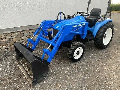 £8995 • Buy New Holland TC31DA Compact Tractor With Loader, Small Farm Tractor With Bucket
