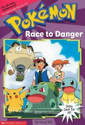 AU5.61 • Buy Pokemon Chapter Book : Race To Danger By Tracey West (2000, Digest Paperback)