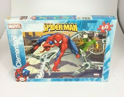 £12 • Buy Clementoni Spider Man Marvel 60 Piece Jigsaw Puzzle Complete Used