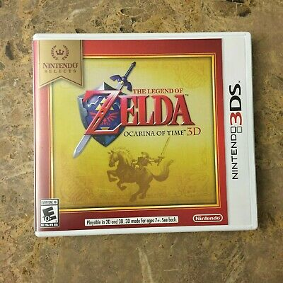 AU21.54 • Buy The Legend Of Zelda: Ocarina Of Time 3D (Nintendo 3DS) COMPLETE IN BOX CIB