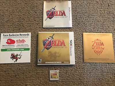 AU16.84 • Buy The Legend Of Zelda: Ocarina Of Time 3D Nintendo 3DS AUTHENTIC 1 Owner Tested US