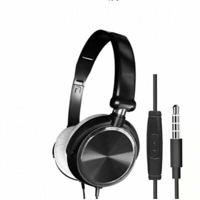 AU21.50 • Buy Wired Stereo Gaming Headset With Mic For Cell Phone PC Laptop Black