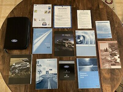 AU42.94 • Buy 2007 Ford F-150 Owners Manual Set + NAV Book & Ford Case-Fast Free Shipping!