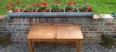£72 • Buy Vintage Double School Desk Child's, Kids. Excellent Condition And Patina.