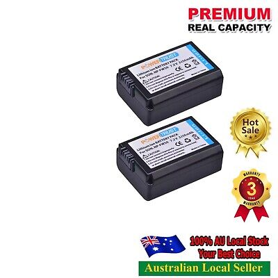 AU31.98 • Buy 2x 2250mAh Bat For Sony A6000 A6400 A6300 A6500 A7 A7II A7RII A7SII A7S A7S2 A7R