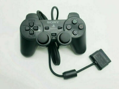 AU21.99 • Buy Sony Playstation 2 PS2 Wired Controller Black Brand New