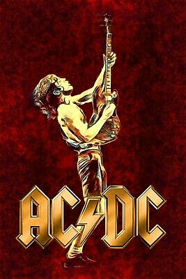 $18.95 • Buy AC/DC 13  X 19  Reproduction Concert Poster Archival Quality 03