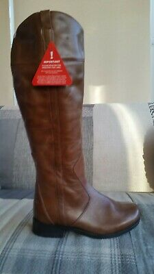 £25 • Buy Brand New Hush Puppies Tan Leather Knee High Boots , Uk Size 6, Eur 39