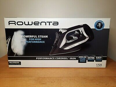 £42.76 • Buy Rowenta Performance Cord Reel Steam Iron DW2450 Stainless Steel Plate New In Box