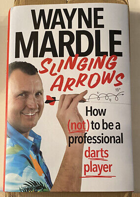 £3.20 • Buy Slinging Arrows By Wayne Mardle. Signed Book. Read Once. Excellent Cond. Darts.