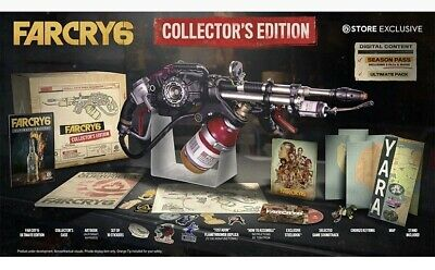 AU511.75 • Buy Far Cry 6 Collector's Edition PS4/PS5 Sony Playstation 5 +Flamethrower FAST SHIP
