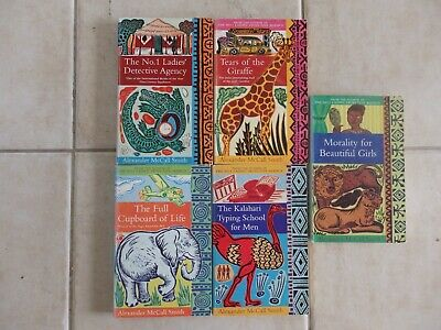 AU49 • Buy THE NO.1 LADIES DETECTIVE AGENCY SERIES 5 BOOKS ALEXANDER McCALL SMITH FREE POST