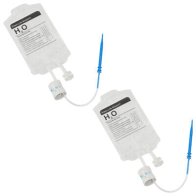 £8.42 • Buy 2x 350ML Plant Life Support Drip_Bags Adjustable Valve Automatic Drip_Irrigation