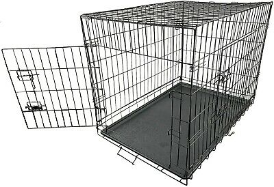 £58 • Buy Dog Cage Pet Crate Carrier - XL  Metal