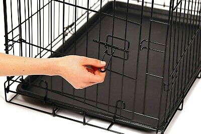 £29.99 • Buy 42  Cage Dog Cage Puppy Pet Crate Carrier - Small Medium Large