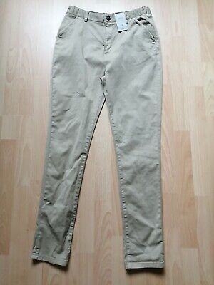 £5.99 • Buy BRAND NEW WITH TAGS Boys Stone Coloured Chino Trousers.  Age 13 Years.