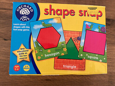 £0.99 • Buy Orchard Toys Shape Snap Game