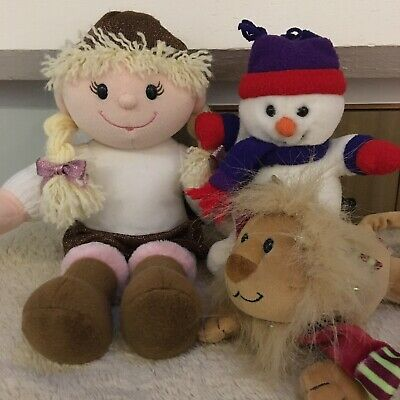 £5 • Buy Tesco Emily Doll Chilly & Friends Soft Toy Bundle Kingsley And Chilly Plush