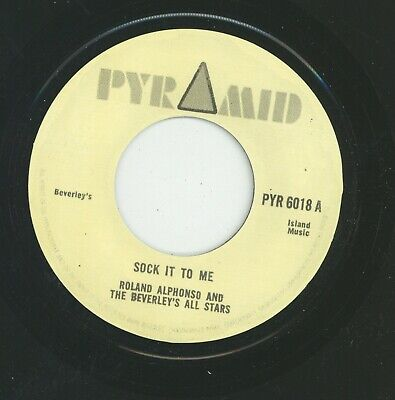 £9.95 • Buy   SOCK IT TO ME.  Roland Alphonso & Beverley's All Stars. PYRAMID 7in.