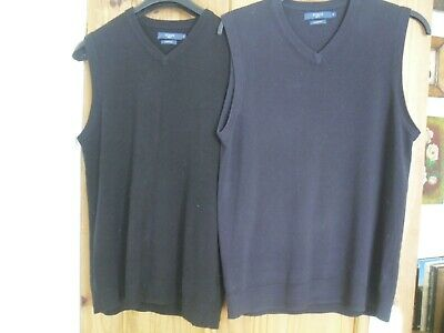 £4.99 • Buy Atlantic Bay From Bhs Tank Tops One Navy One Black Size M