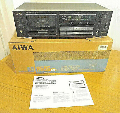 £149.99 • Buy Aiwa AD-R505 Cassette Tape Deck, HX Pro, New Belts Fitted 15/7/21