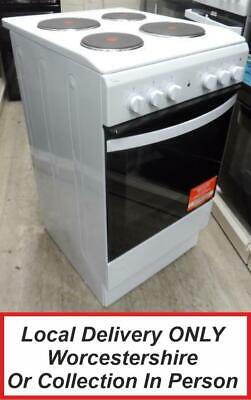 £199.99 • Buy Indesit IS5E4KHW White Electric Cooker Single Cavity 50cm IS5E4KH PEC NEW *MG*