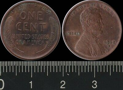 AU49.99 • Buy USA: 1912S One Cent 1c President Lincoln EF