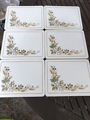 £5.99 • Buy Marks And Spencer Harvest Placemats X 6