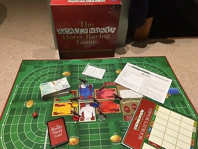 £11.99 • Buy The Really Nasty Horse Racing Game By Upstarts 2002 Board Game 100% COMPLETE