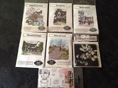 £5 • Buy Selection Of Clear Stamps By Stamps Away, Imagination Crafts, AALL & Create
