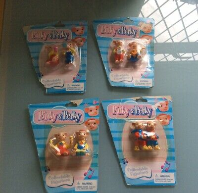 £19.99 • Buy 8 X PINKY AND PERKY FIGURES COLLECTABLE FIGURINES SEALED ON CARD.UNOPENED.