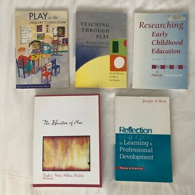 £25 • Buy 5 X Early Childhood Education Books - (Child Care + Early Years Education)