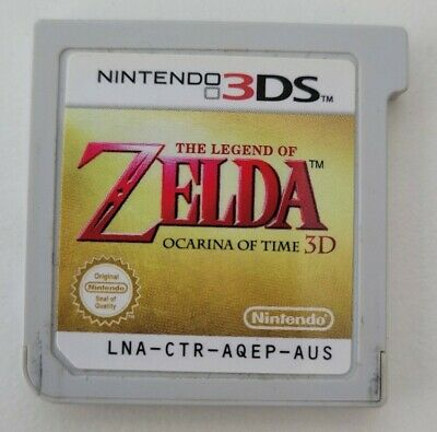 AU49.99 • Buy Nintendo 3DS The Legend Of Zelda: Ocarina Of Time 3D Fast Shipping From Sydney