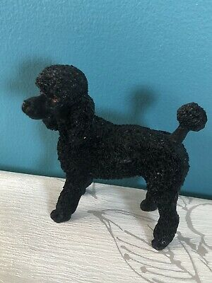 £16 • Buy Beautiful Vintage Black Poodle Ornament Collectable Dog Figurine 5 Inch High
