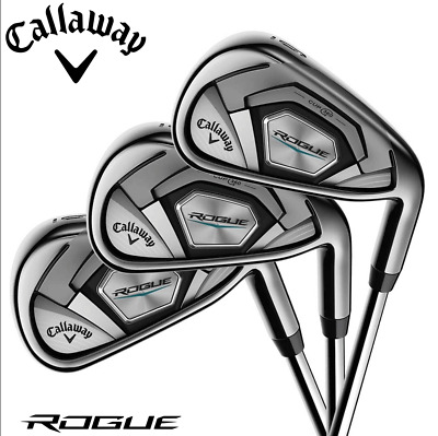 AU1046.41 • Buy Callaway Rogue Irons Regular Shafts (steel Or Graphite & Length Options)