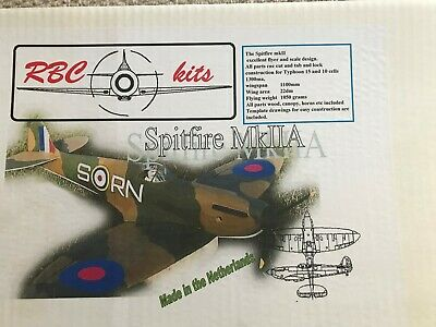 £49.99 • Buy RBC Kits Spitfire Mk 11A  Electric Powered Radio Controlled Model Aircarft