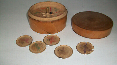 £19.99 • Buy Antique Wooden Horse Racing Game - 19th Century