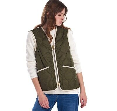 AU183.88 • Buy Barbour By Alexa Chung Nora Gilet, UK 8, New With Tags
