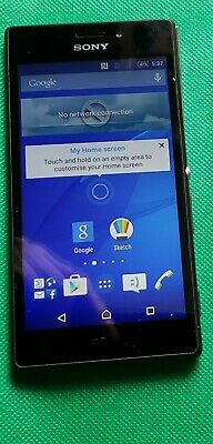 AU11.02 • Buy Sony Xperia M2- Black Smartphone Tested Charged Works On 3. HANDSET ONLY