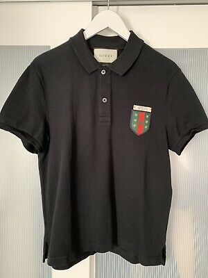 AU321.83 • Buy Gucci Men Polo Bee Tshirt Top Size In Photos By Tape 100% Authentic Ultra Rare
