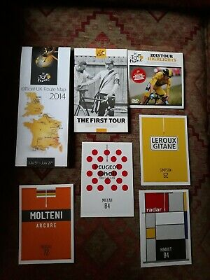 £12.50 • Buy Tour De France Memorabilia. Superb Collection Of 7 Items All In Great Condition.