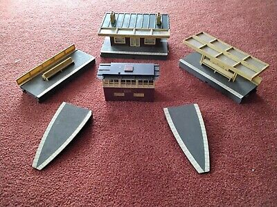 £5 • Buy Triang Hornby R585 R460 R464 Station Platform Canopy Ticket Office End Ramps.