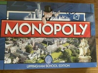 £23 • Buy Uppingham School Monopoly (2011) New And Sealed