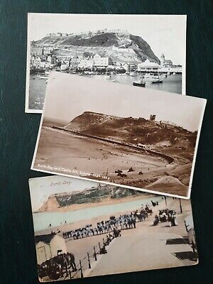 £2 • Buy 3x Postcards. North Bay & Harbour Scarborough,Yorkshire Card 1905 Seaside