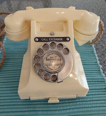 £175 • Buy Ivory Bakelite Call Exchange GPO 312L Telephone + Drawer. Not Converted.